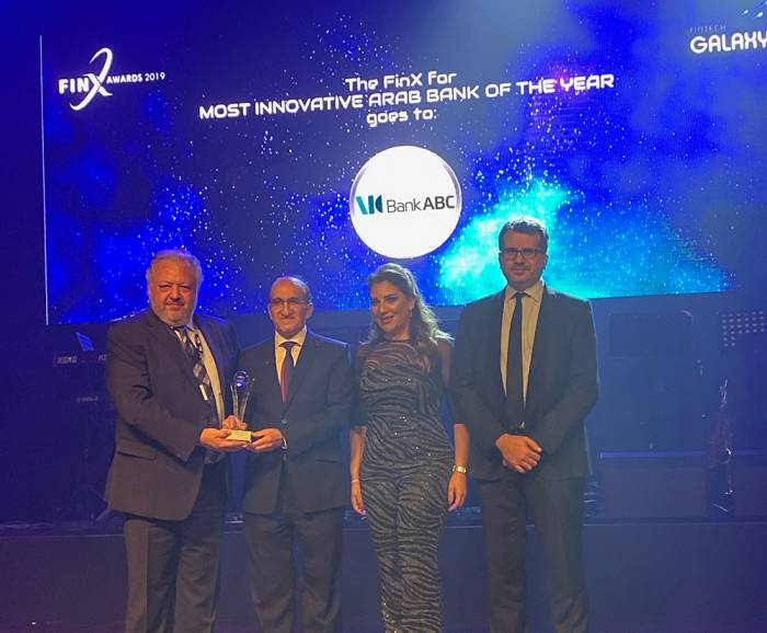 Bank ABC Wins Most Innovative Arab Bank of the Year award