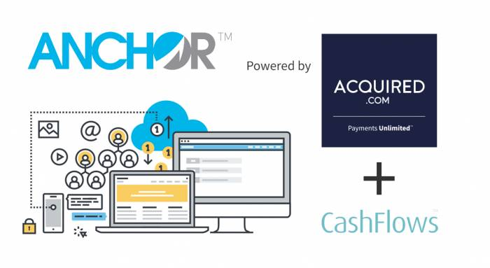 Anchor integration marks a significant moment for Acquired.com and CashFlows