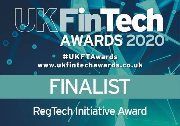 Acin shortlisted for the UK FinTech Awards 2020.