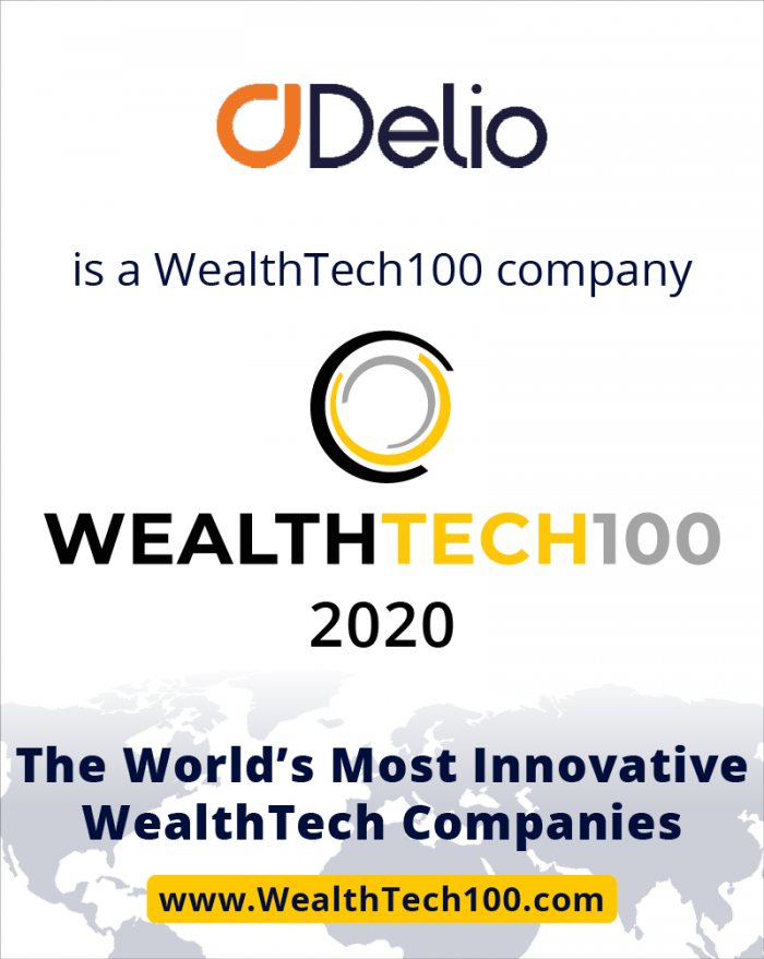 Delio recognised among the world's leading wealth tech solutions