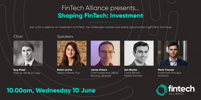 Shaping FinTech: Investment webinar – what we learned