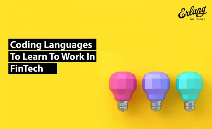 Best Coding Language For a Job In FinTech