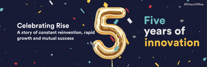 Celebrating Rise | 5 Years of Innovation