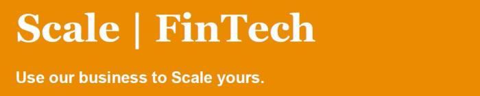 Applications now open: PwC Scale   FinTech Programme 2020