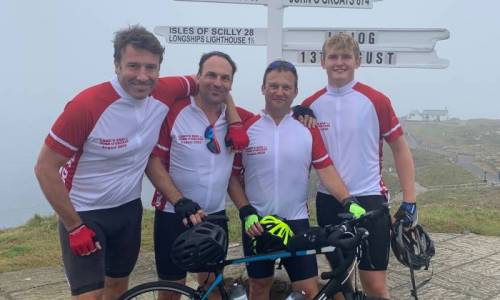 Landbay COO cycles 'LEJOG' raising over £4000 in support of Parkinson's UK