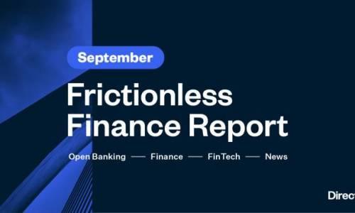 Frictionless Finance Report - Thursday 24th September