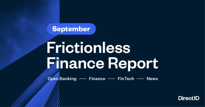 Frictionless Finance Report - Thursday 24th September