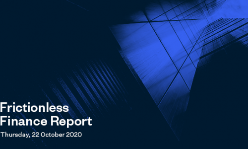 Frictionless Finance Report - Thursday 22nd October