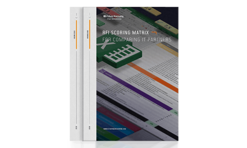 Easy to use, free RFI scoring matrix for comparing IT nearshoring partners.