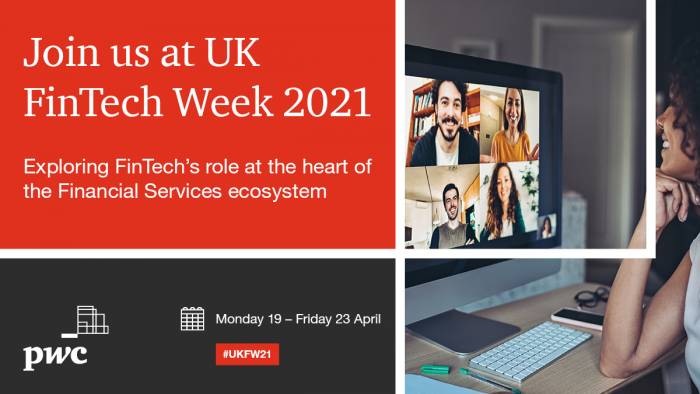 PwC excited to be sponsoring UK FinTech Week