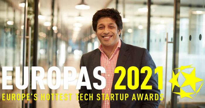 Vestd recognised by The Europas for 'Hottest B2B / SaaS Startup 2021'