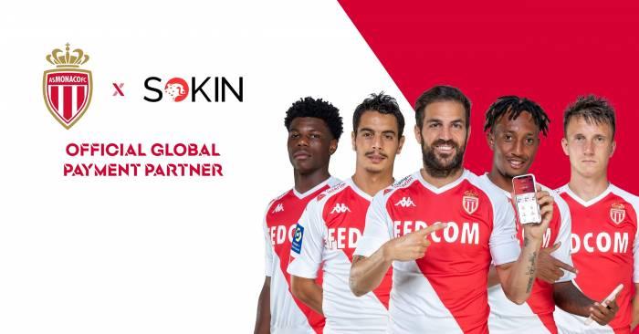 Sokin signs multi-year partnership with AS Monaco