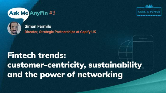 Customer Centricity, Sustainability, and the Power of Networking: AMA with Simon Farmilo