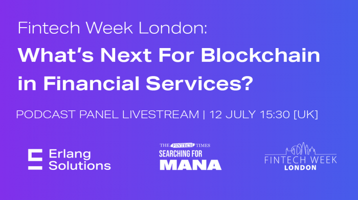 Save The Date  - We're Joining Fintech Week London