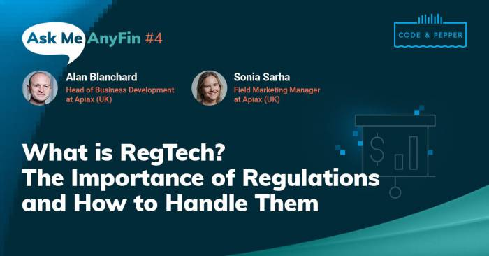 What Is RegTech? On Regulations and How to Handle Them: AMA with Alan Blanchard