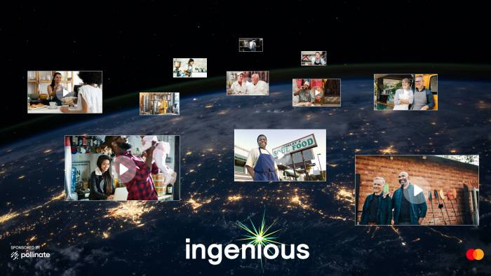 Celebrating small businesses with Ingenious: a filmmaker competition by Pollinate in collaboration with Mastercard
