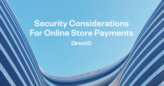 4 Security Considerations For Online Store Payments