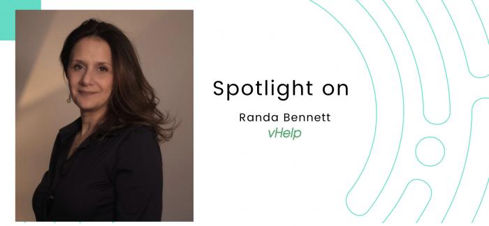 Spotlight on… Randa Bennett, vHelp