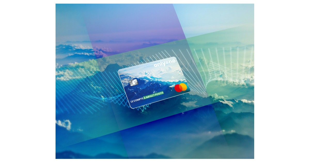 Onlyone first French fintech to launch eco-friendly credit card