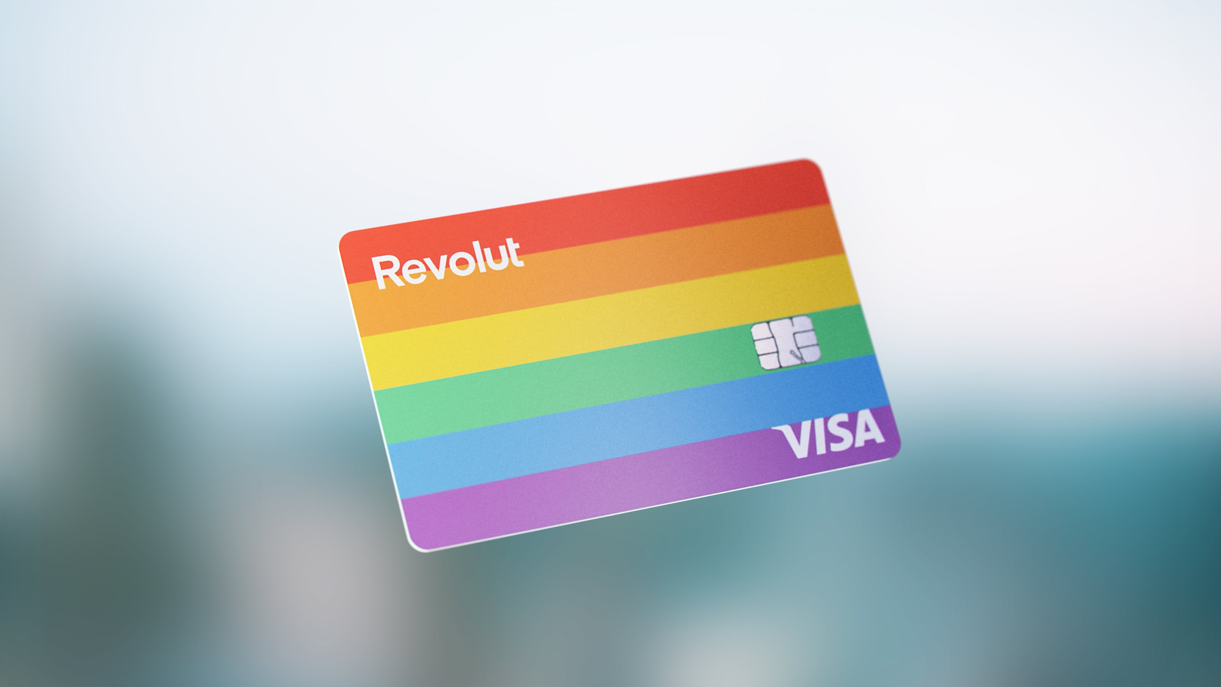 Revolut launches rainbow card to mark Pride celebrations