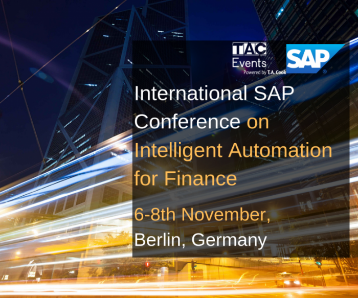 International SAP Conference on Intelligent Automation for Finance