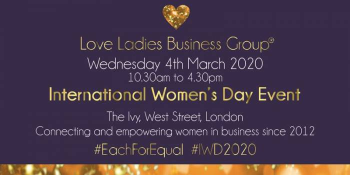 #LoveBiz International Women's Day Event - London