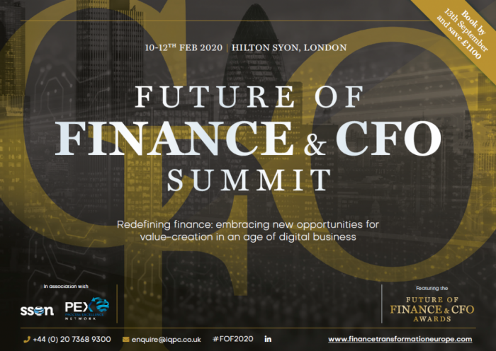 The Future of Finance and CFO Summit