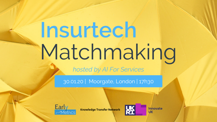 AI for Services: InsurTech Matchmaking Event