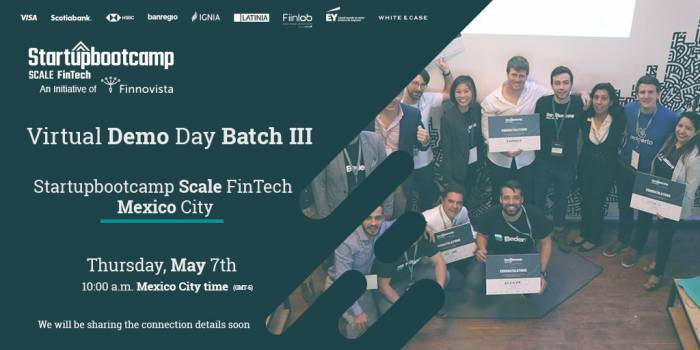 Demo Day | Startupbootcamp Scale FinTech | Batch III