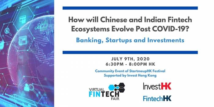 How will Chinese and Indian Fintech Ecosystems Evolve Post COVID-19?