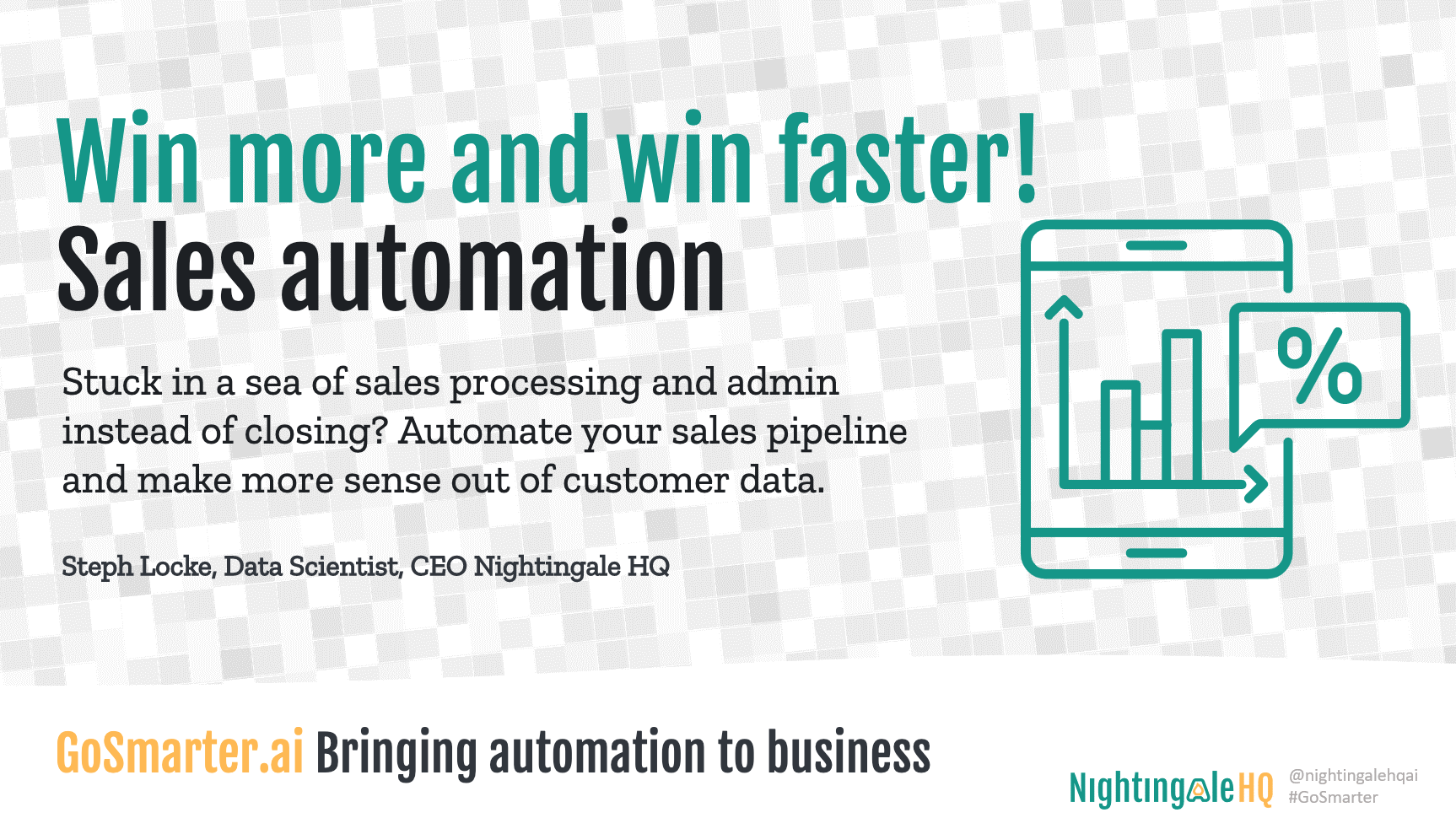Win More, Win Faster with Sales Automation (GoSmarter.ai Series)