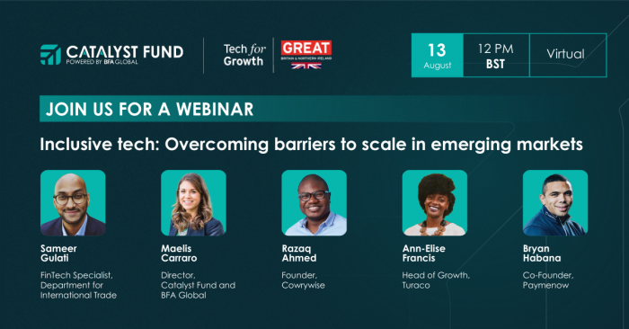 Tech for Growth: Overcoming Barriers to Scale in Emerging Markets