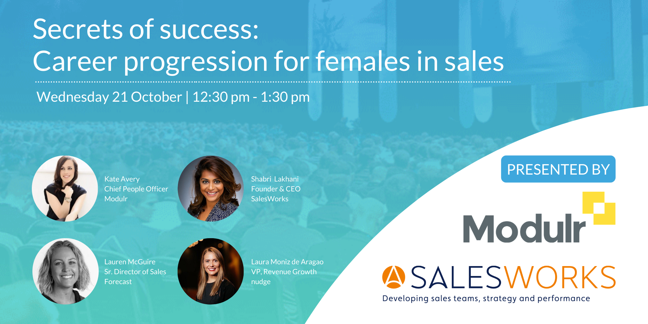 Secrets of success: career progression for females in sales