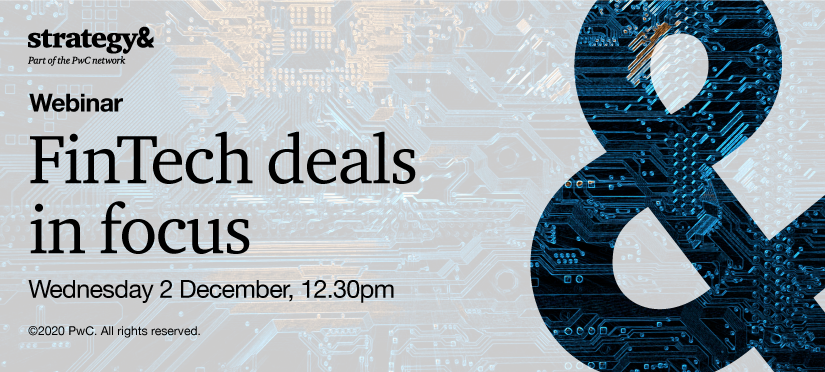 Webinar: FinTech deals in focus