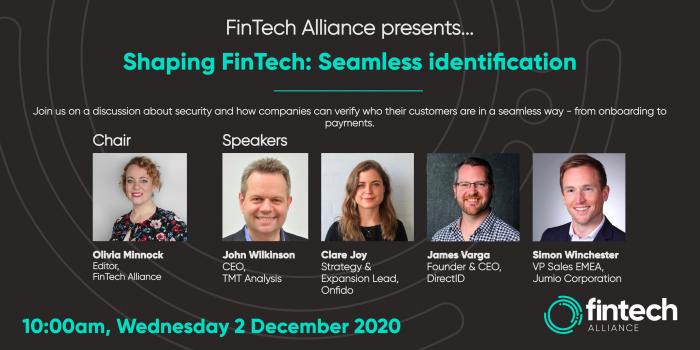 FinTech Alliance: Shaping FinTech 2.0 | Seamless identification