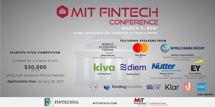 MIT Sloan FinTech Conference 2021