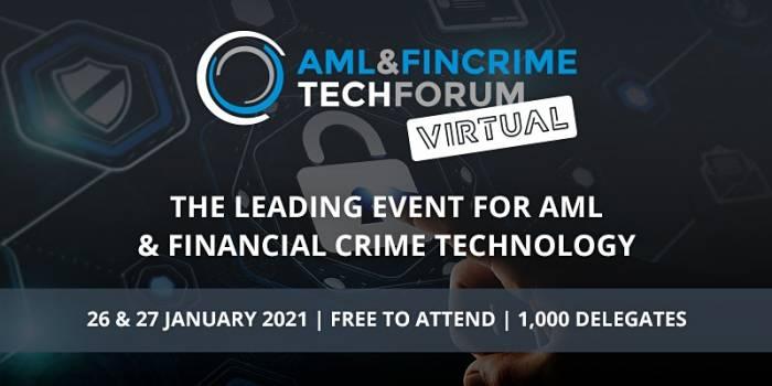 AML & FinCrime Tech Forum - Virtual