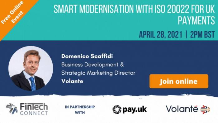 Smart Modernisation with ISO 20022 for UK Payments