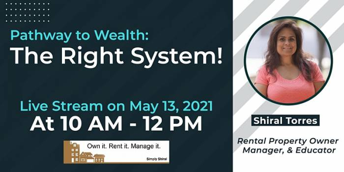 Pathway to Wealth: The Right System!