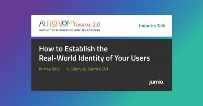 How to Establish the Real-World Identity of Your Users