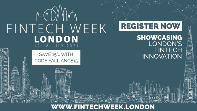 Fintech Week London at Rise, created by Barclays
