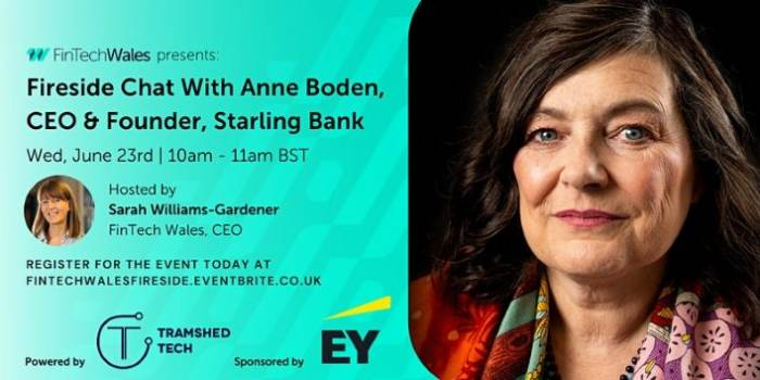Fireside chat with Anne Boden, CEO & Founder of Starling Bank