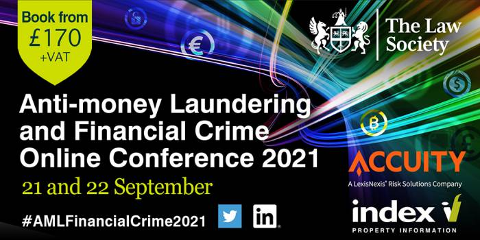 Anti-money laundering and financial crime online conference