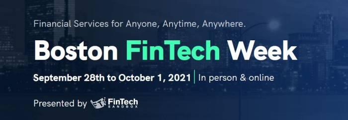 Boston FinTech week