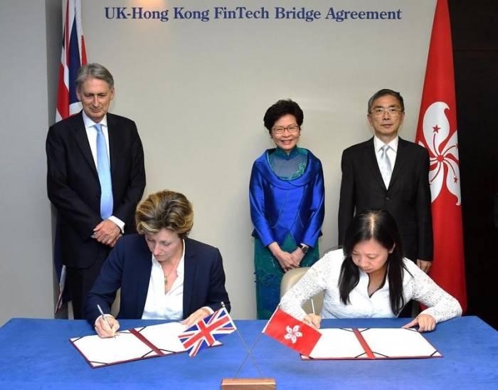 UK-Hong Kong FinTech Bridge