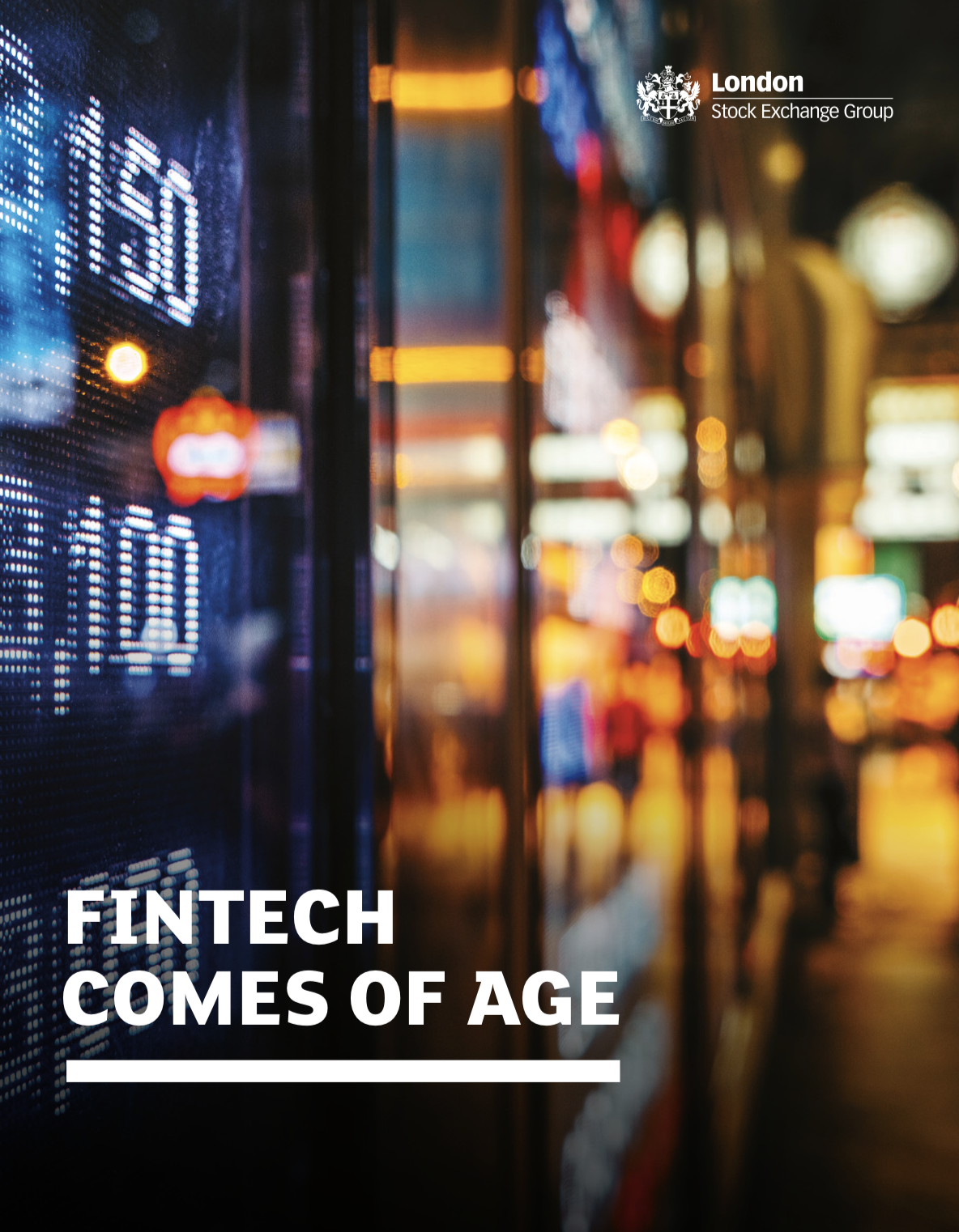 FinTech Comes of Age