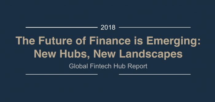 The Future of Finance is Emerging: New Hubs, New Landscapes