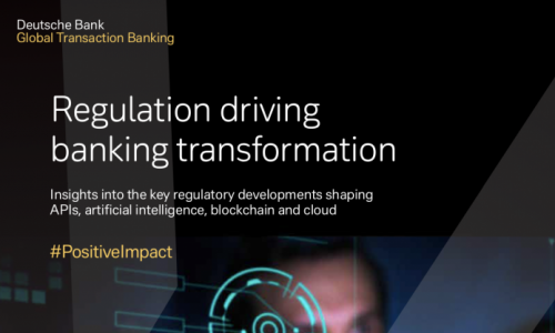 Regulation driving banking transformation