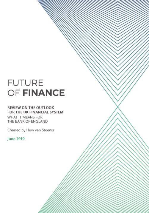 The future of finance report