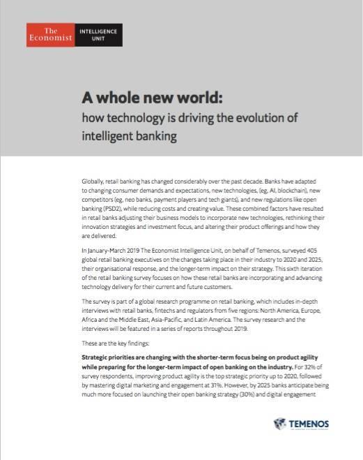 Temenos EIU FinTech Report